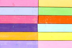Bunch of square colorful pastel chalks closeup Royalty Free Stock Images