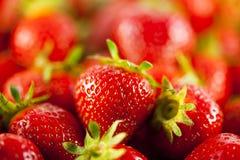 Bunch of strawberries Stock Image