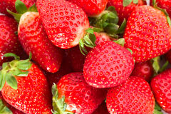 Bunch of strawberries Stock Photography