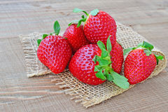 Bunch of strawberries Royalty Free Stock Photos