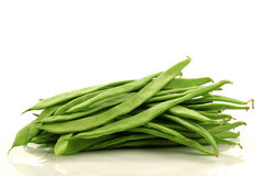 Bunch of string beans Royalty Free Stock Images