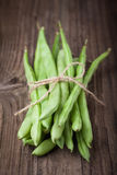 bunch of string beans Stock Image