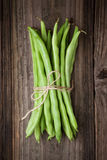 Bunch of string beans Royalty Free Stock Photography
