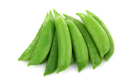Bunch of sugar snaps Royalty Free Stock Photo