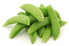 Bunch of sugar snaps Royalty Free Stock Photos