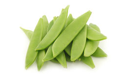 Bunch of sugar snaps Stock Image