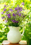 Bunch of summer flowers Stock Photography