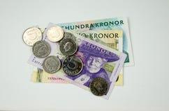 Bunch of swedish money Royalty Free Stock Image
