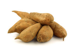 Bunch of sweet potatoes Royalty Free Stock Photography