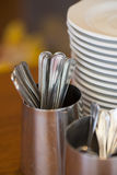 Bunch of tableware Royalty Free Stock Images