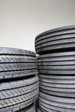 A bunch of tires Royalty Free Stock Photo