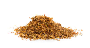 Bunch of tobacco. Isolated on white background Stock Photography