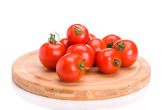 A bunch of tomatoes Royalty Free Stock Images