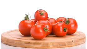 A bunch of tomatoes Stock Photos