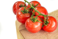 Bunch of tomatoes Stock Photography