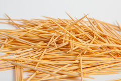 Bunch of toothpicks Stock Photography
