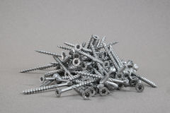 A bunch of torx screws Royalty Free Stock Photo