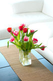 Bunch of tulip flowers Stock Images