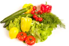 Bunch of vegetables Royalty Free Stock Image