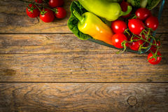 Bunch of vegetables Stock Images