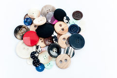 Set of vintage buttons Stock Image
