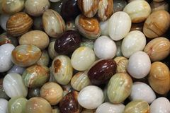 Vintage Marble Eggs Royalty Free Stock Image