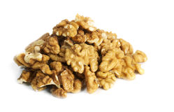 Bunch of walnuts Royalty Free Stock Photography