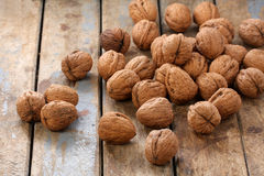 Bunch of Walnuts Stock Photo