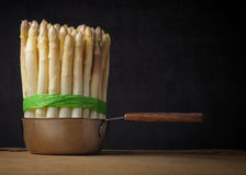 Bunch of white asparagus Royalty Free Stock Photography