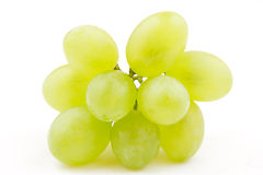 Bunch of white grape(White Muscat) isolated Royalty Free Stock Images