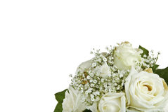 Bunch of white roses Stock Photo