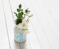 Bunch of white roses Royalty Free Stock Images