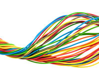 Bunch of wires Royalty Free Stock Photography