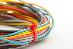 Bunch of wires Stock Images