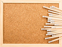 Bunch of wooden pencils Stock Photography