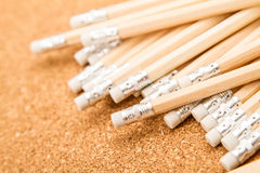 Bunch of wooden pencils Royalty Free Stock Photo