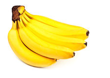 Bunch of yellow bananas Royalty Free Stock Image