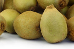 Bunch of yellow kiwi's Stock Image