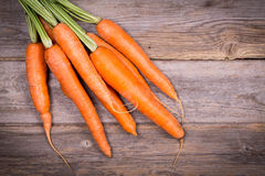Bunched carrots Stock Photo