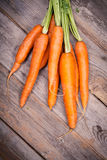 Bunched Carrots Stock Photos