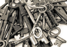 Bunched Together Keys Stock Photography