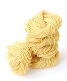 Bunches of dried noodle Stock Photography