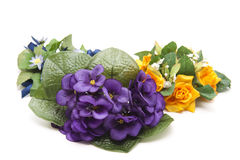 Bunches of flowers Stock Images
