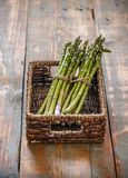 Bunches of fresh asparagus Stock Photography