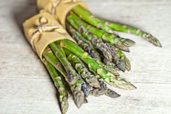 Bunches of fresh asparagus Royalty Free Stock Images