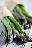 Bunches of fresh asparagus Royalty Free Stock Photos