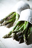 Bunches of fresh asparagus Royalty Free Stock Photography