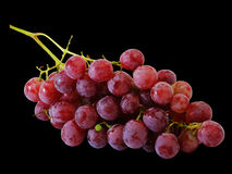Bunches of fresh red grapes Stock Photo