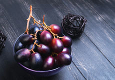 Bunches of grapes Crimson Royalty Free Stock Photo
