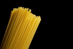 Bunches of Italian spaghetti Stock Image